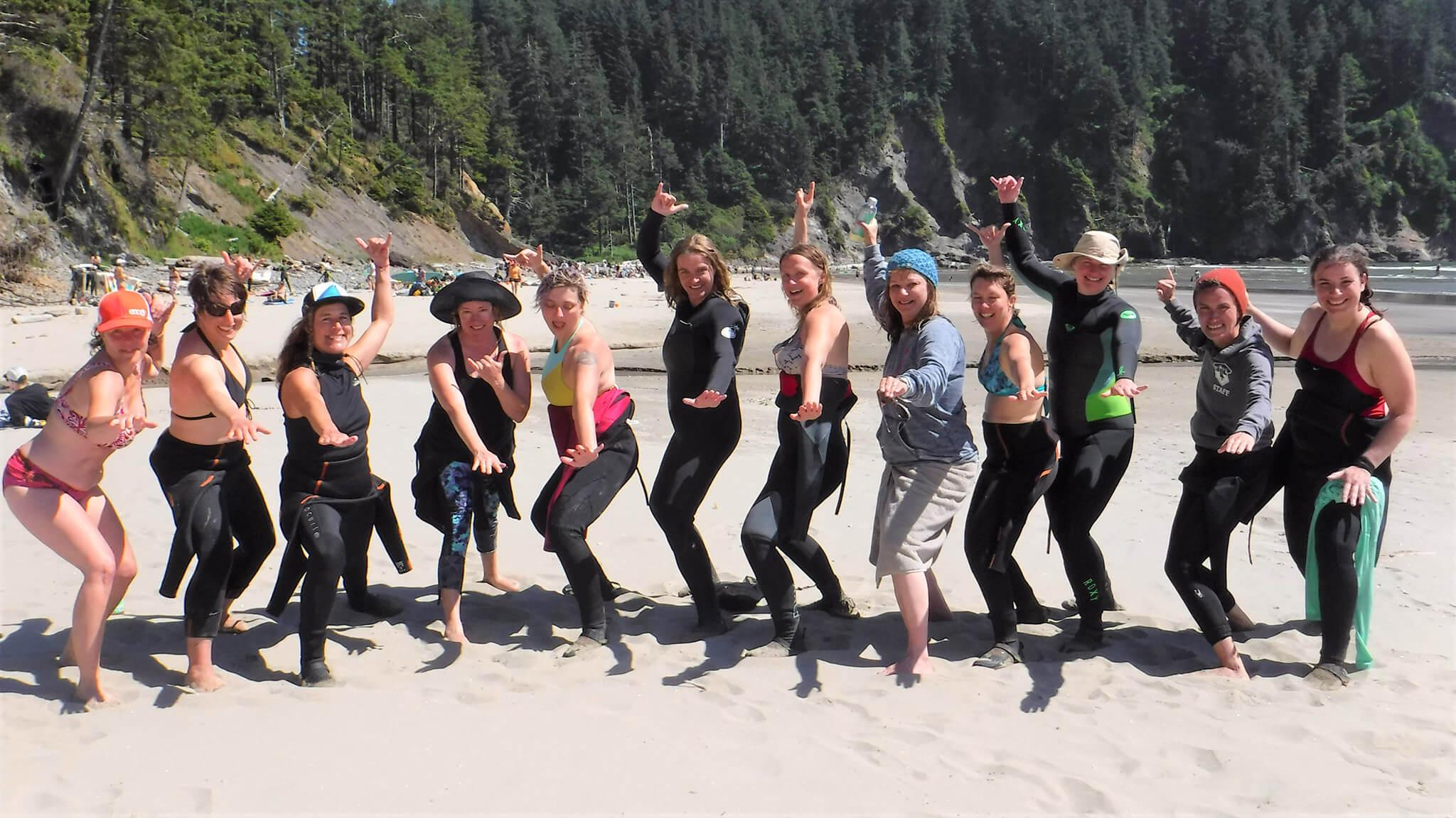 WOMENS SURF WEEKENDERS