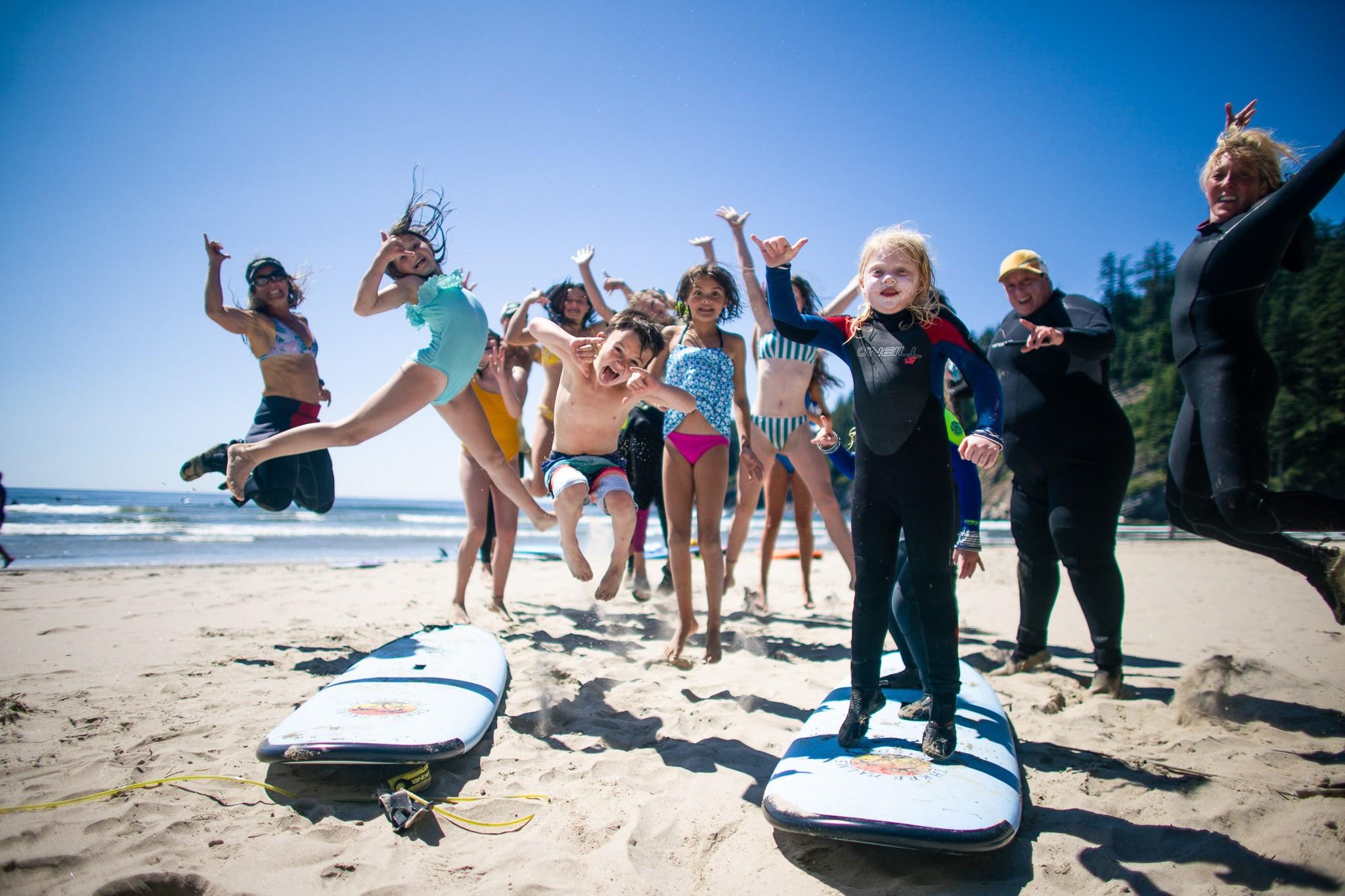 NEW PARENTS & KIDS SURF CAMPS